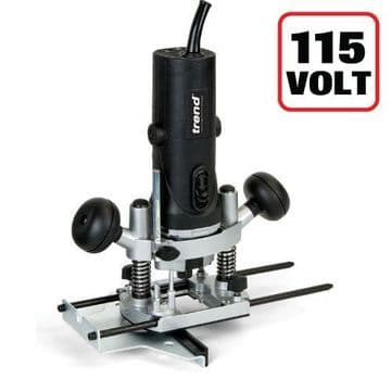"""Trend 850W 1/4"""" Variable Speed Router 115V - UK sale only"""